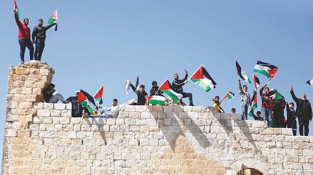 Dört parçalı Filistin