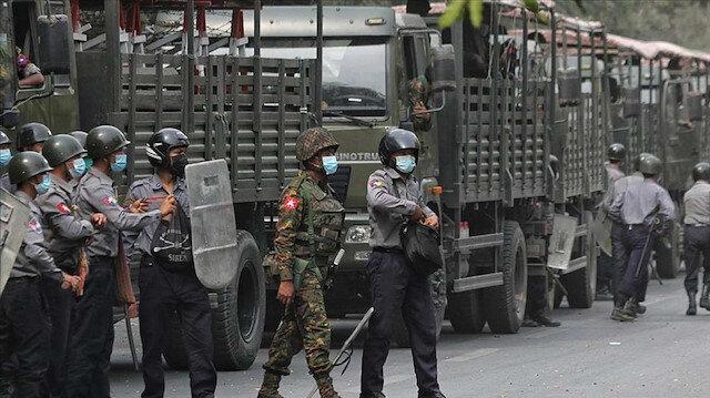 İngiltere'den Myanmar'da askeri rejimin ekonomik kaynağına yaptırım
