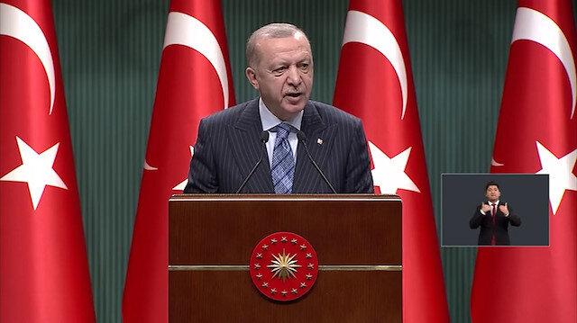 Cumhurbaşkanı Erdoğan: Salgın büyük ölçüde kontrol altına alınmış durumda
