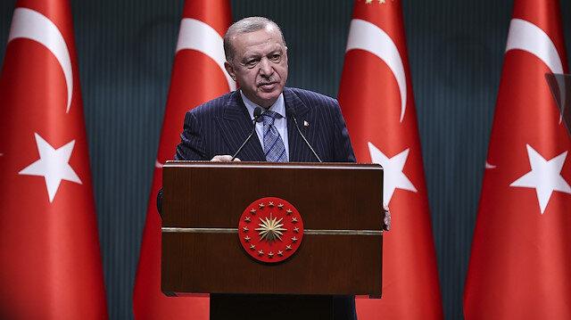 Cumhurbaşkanı Erdoğan'dan işgalci İsrail'e sert tepki: Bunlar yavruları öldürecek kadar katiller