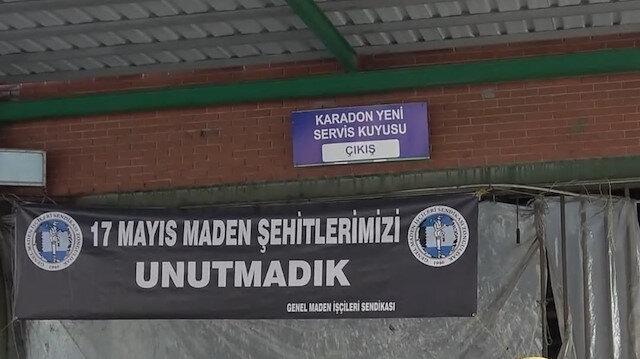 Zonguldak'ta 11 yıl önce yaşanan grizu patlamasında hayatını kaybeden madenciler dualarla anıldı