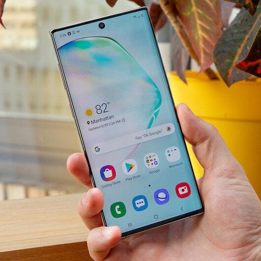 Samsung Galaxy Note 10 için güncelleme yayınlandı
