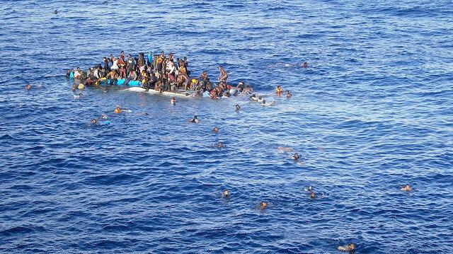 Tunus açıklarında gemi faciası: En az 57 göçmen boğuldu