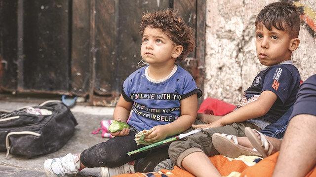 Bu çığlığı duyun: Bizler çocuğuz bombalardan korkuyoruz