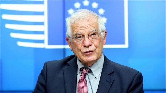 AB Yüksek Temsilcisi Borrell işgalcilerin katliamına sessiz kaldı: Hamas'ı kınıyor İsrail'i destekliyoruz