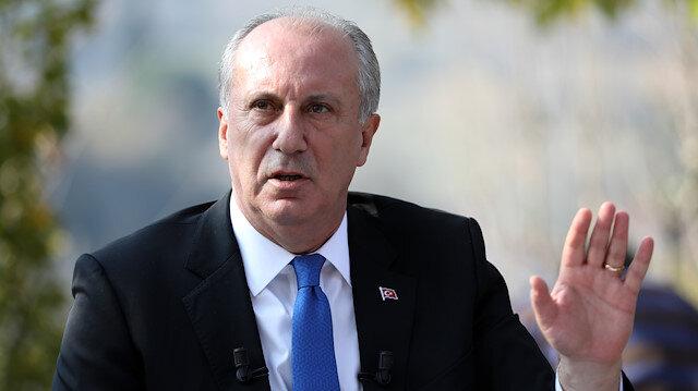 İnce HDP'ye kapıyı kapattı: Teröre mesafe koymayanı istemiyoruz
