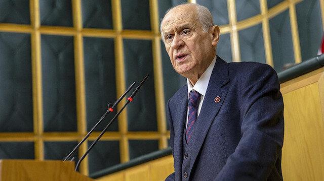 MHP Genel Başkanı Bahçeli'den İsrail açıklaması: Biz gidelim akan kanı durduralım