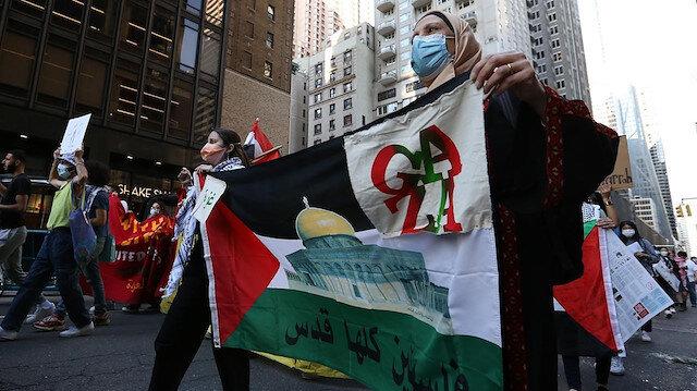 ABD'li Yahudi sivil toplum örgütleri İsrail'e karşı Filistinlilere destek için harekete geçti