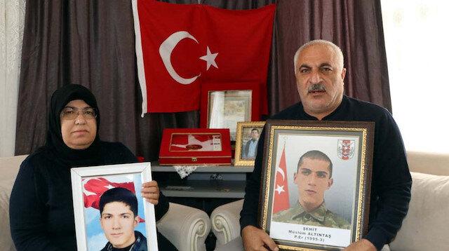 Gara şehidinin babası: 'Sofi Nurettin' isimli teröristin ölüm haberi oğlumuza doğum günü hediyesi oldu