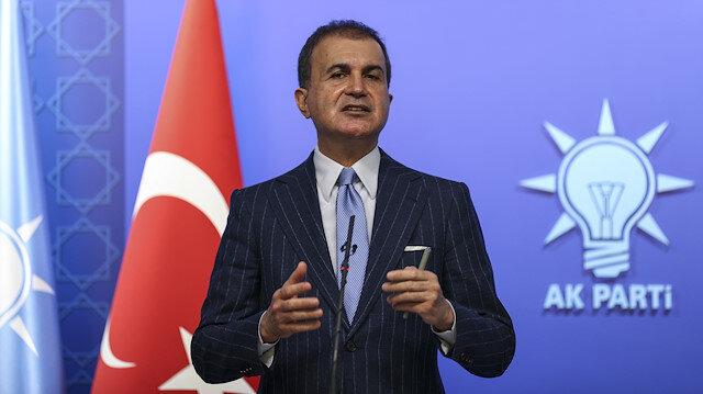 AK Parti Sözcüsü Çelik'ten Cumhurbaşkanı Erdoğan'ı hedef alan ABD Dışişleri Bakanlığı'na kınama
