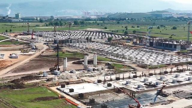 TOGG'un hızlı yükselişi sürüyor: Temel beton işlerinin yüzde 95'i tamamlandı