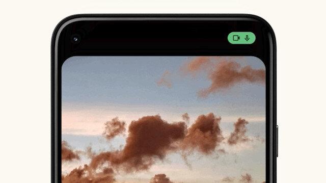 Android 12'de kamera ve mikrofon erişimini gösteren yeni simgeler geliyor