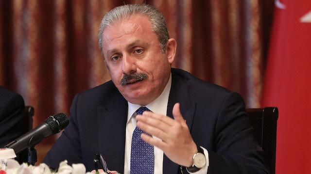 TBMM Başkanı Şentop'tan Yunanistan'a: Müslüman Türk varlığını yok saymaya çalışan söylemleri kınıyorum