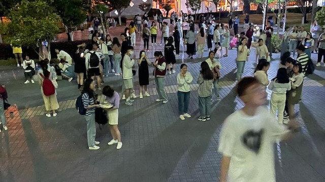 Çin art arda 3 depremle sarsıldı