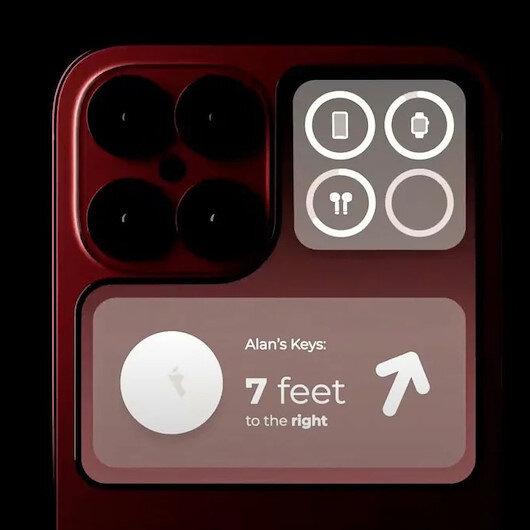 Yeni iPhone 14 konseptinde telefonun arka kısmında ek bir ekran yer alıyor