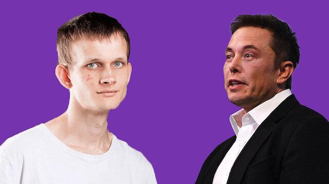 Musk'tan Ethereum'un kurucusuna tek fotoğraflık yanıt: Doge'den korkuyor