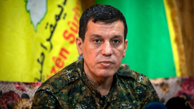 ABD'li generallerin terör trafiği: Terörist elebaşı 'Mazlum Kobani' ile görüştüler