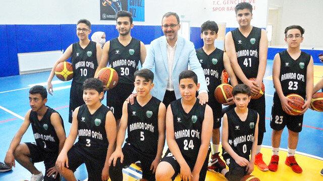 Muş'a spor okulu: Bölgede çok yetenekli çocuklar var