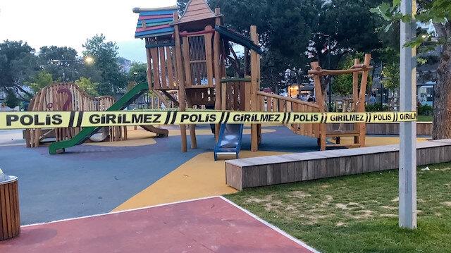 Ümraniye'de çocuk parkında silahlı çatışma: Dehşet saniye saniye kaydedildi