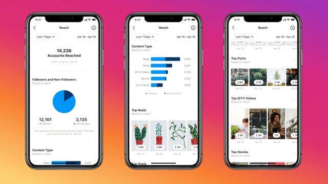 Instagram içerik oluşturucular için yeni özellikler sunuyor