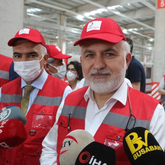 Türk Kızılay Genel Başkanı Kınık: Türkiye'den Hindistan'a 1 milyon 100 bin dolarlık tıbbi yardım gönderildi