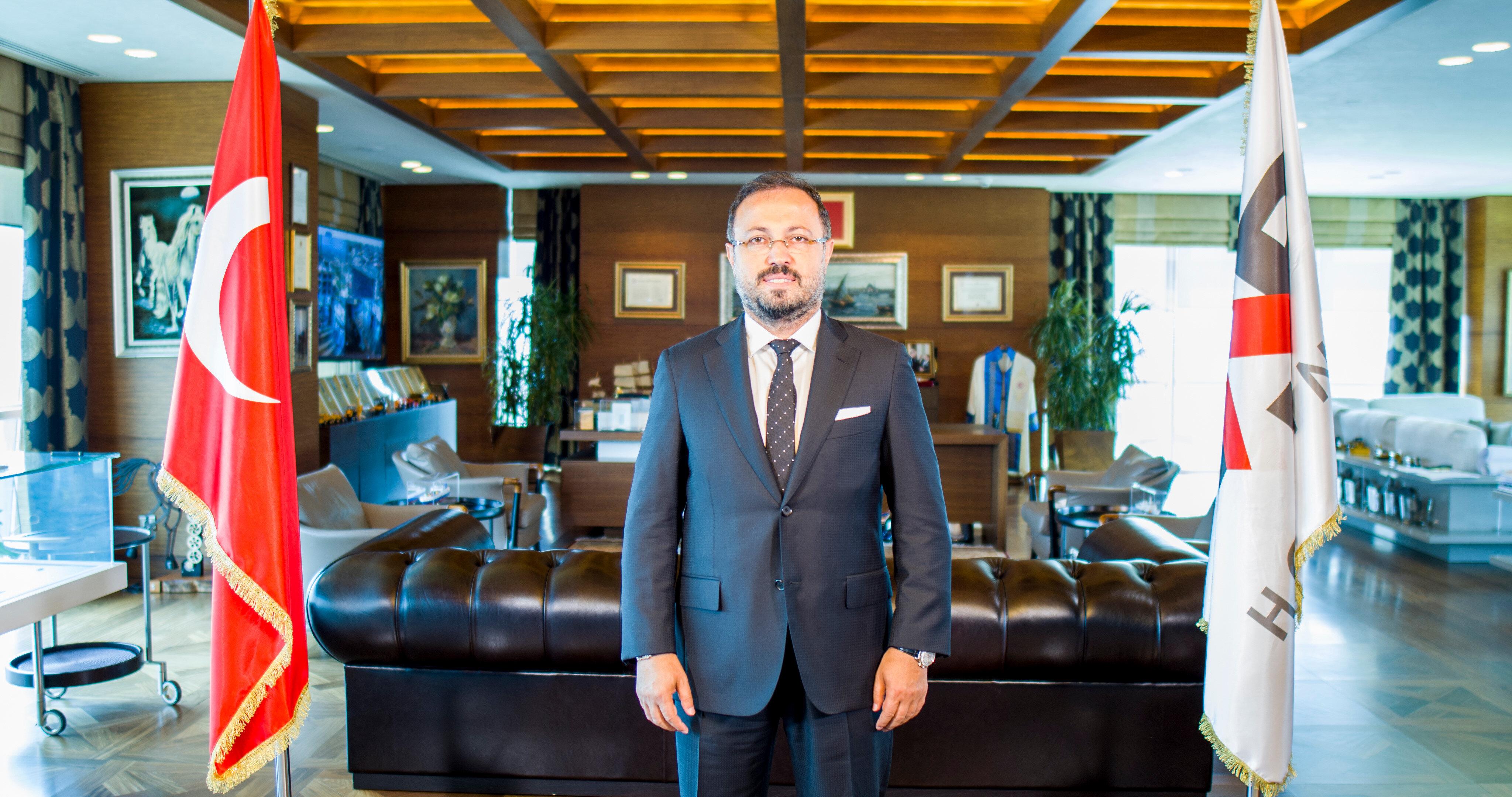 AP Yapı Yönetim Kurulu Başkanı Ziya Yılmaz.