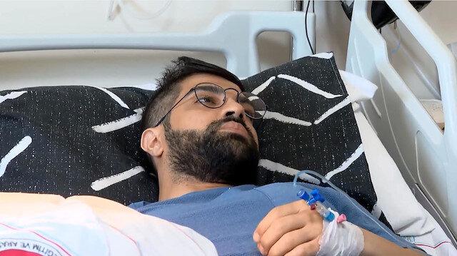 Ankara'da hastanede doktora saldıran zanlı tutuklandı
