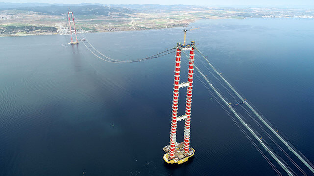 """Bülent Turan sugirió, diciendo """"Que rompa la Eiffel"""": Abramos el puente Çanakkale de 1915 al turismo."""