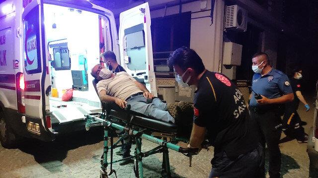 Denizli'de kumar masasında polise yakalanan tansiyon hastası fenalaştı