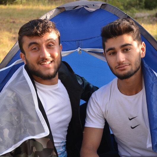 Şırnak'ın dağlarında artık terör değil doğa kampları kuruluyor