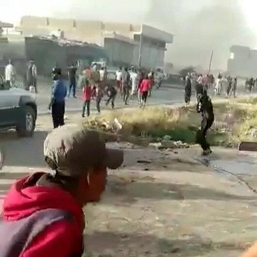 Münbiçte PKKlı teröristler sivillere ateş açtı