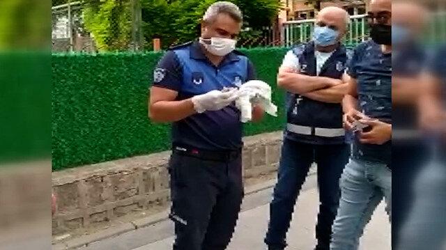 Kayseri'de dilencinin sakladığı paralar bebek bezinden çıktı