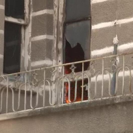 Antalyada kullanılmayan binada bir haftada 3 kez yangın çıktı