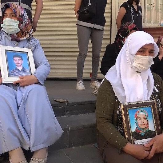 Diyarbakırda annelerin HDP binası önündeki evlat bekleyişi sürüyor