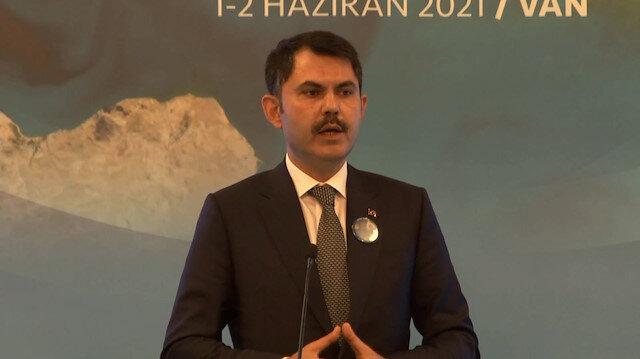 Bakan Kurum'dan deniz salyası çıkışı: Yerel yönetimlerimizin vazifesi çevre yatırımlarını durdurmak değildir