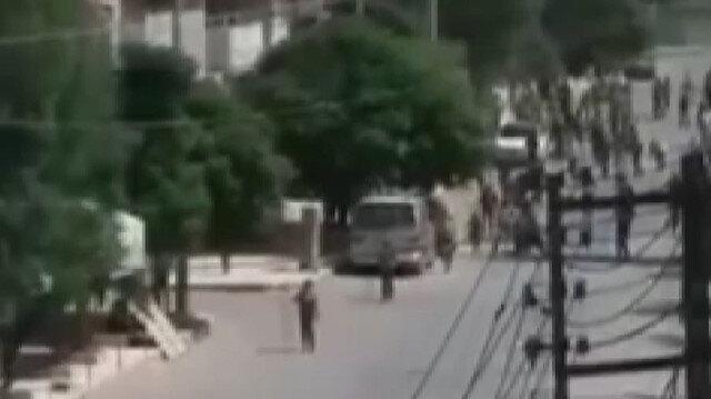 Terör örgütü YPG/PKK Münbiç'te sivilleri vurmaya devam ediyor