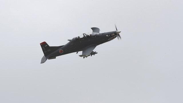 Hürkuş'un HYEU modelinden bir ilk: Gösteri uçuşu yaptı