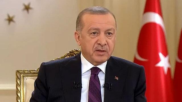 Cumhurbaşkanı Erdoğan'dan Millet İttifakı'na tepki: Dağdaki PKK ile mi anayasa hazırlayacaksınız?