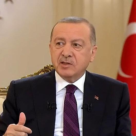 Cumhurbaşkanı Erdoğandan maske açıklaması: Sosyal mesafeye dikkat edilirse maskeden kurtulabiliriz