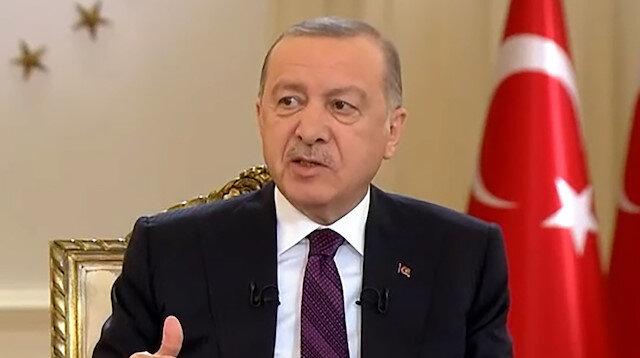 Cumhurbaşkanı Erdoğan'dan 'maske' açıklaması: Sosyal mesafeye dikkat edilirse maskeden kurtulabiliriz