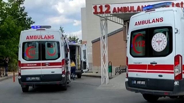 İzmir'de bir tekstil fabrikasındaki çalışanlar zehirlendi