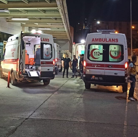 Siirt'te patpat kazasında 4'ü ağır 9 kişi yaralandı