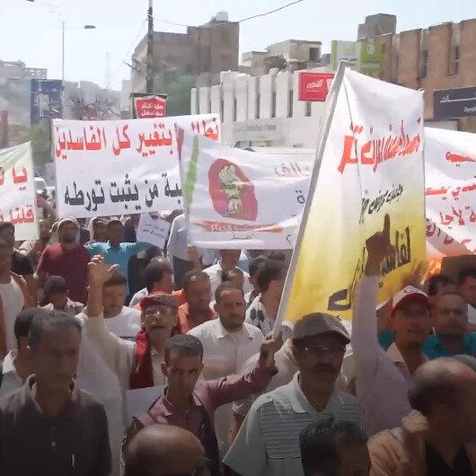 Yemenliler hayat pahalılığını ve yolsuzluğu protesto etti