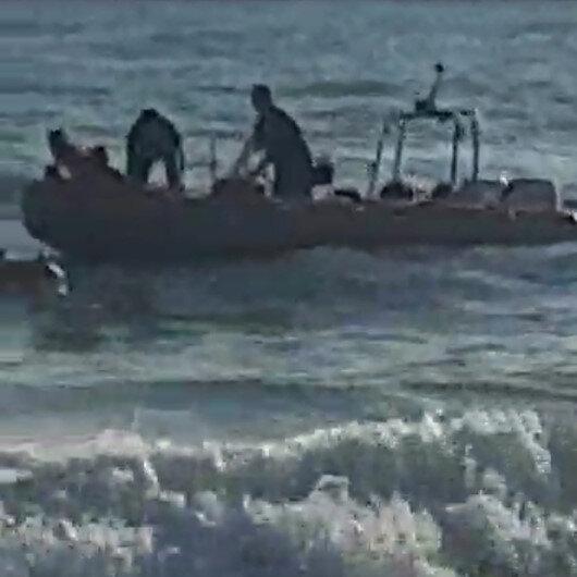 Rip akıntısına kapılan iki kişi boğulmaktan son anda kurtarıldı
