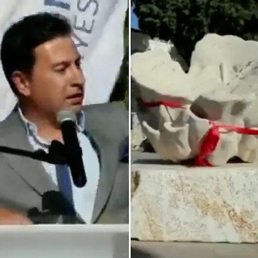 CHPli Belediye Başkanı Arasın heykel mutluluğu: Paralar bunlar için harcanacak