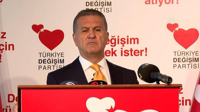 TDP Genel Başkanı Mustafa Sarıgül ABD yönetimine seslendi: Hangi muhalefet partisine destek veriyorsanız açıklayın