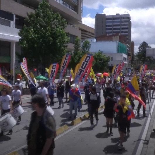 Kolombiyada hükümet karşıtı protestolar 28 Nisandan beri devam ediyor