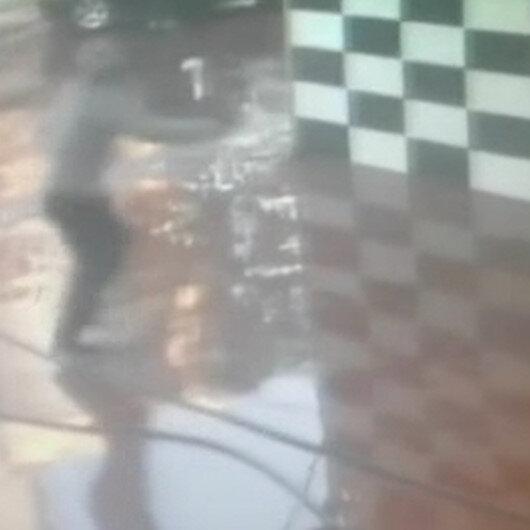 Ataşehirde oto yıkamacıya silahlı saldırı kamerada