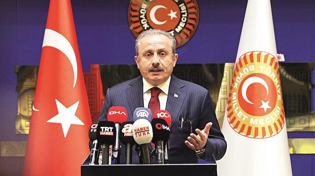 Şentop'tan CHP liderine çok sert yanıt: Haysiyetsizce bir iftira