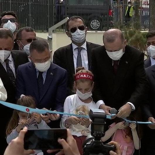 Zonguldak Uzun Mehmet Camii Cumhurbaşkanı Erdoğanın katılımıyla ibadete açıldı